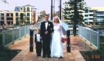 Our wedding, 6 June 2000