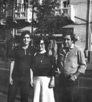 My parents and I in Romania, 1980