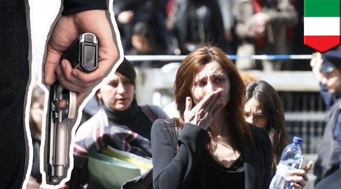 Стрелба в съда в Милано