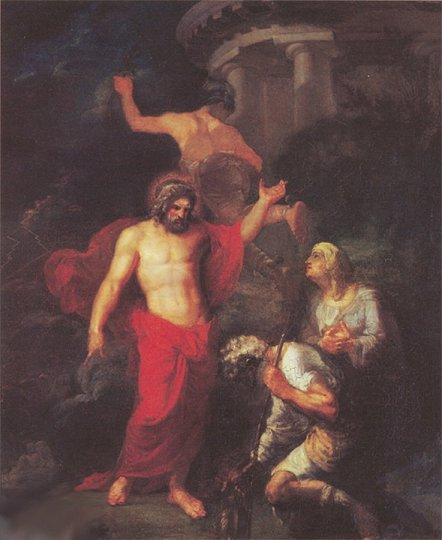 64_Jupiter_and_Mercury_in_the_Form_of_Visiting_Pilgrims_Orest_Kiprensky_1802