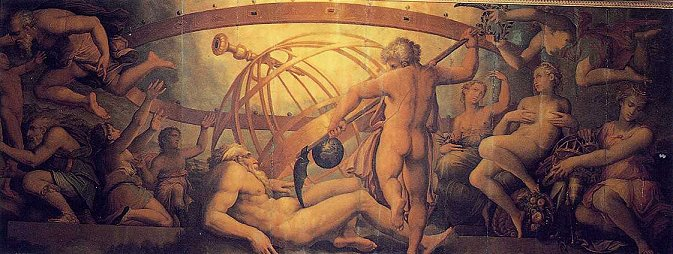 66_The_Mutiliation_of__Uranus_by_Saturn_Georgio_Vasari_16_century