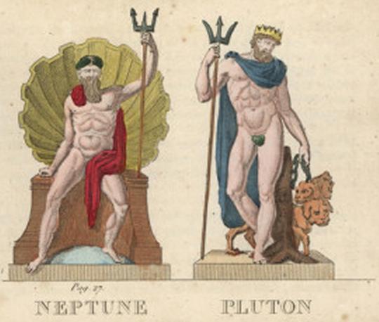 Neptune and Pluto