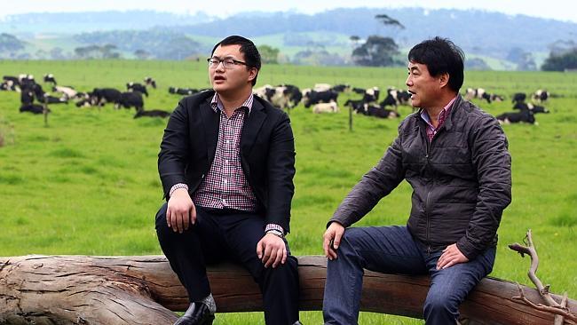 Chinese inspect Australian farms