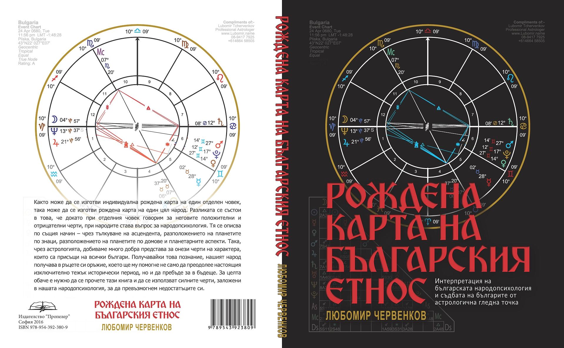 Корица Рождена карта на българския етнос