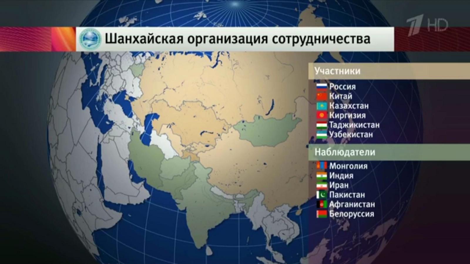 Страни членки на ШОС