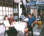Farewell party in Sofia, 1998