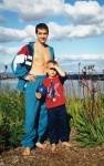 Me and Vladimir, Kings park, Perth, 2000