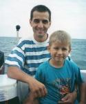 Boat trip, 17 February 2001