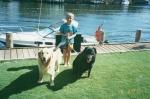 Boat trip, 18 February 2001