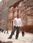At Petra, Jordan, 8 December 2007