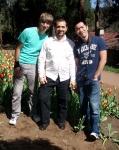 With Vladimir and my partner Sam, 11 September 2011