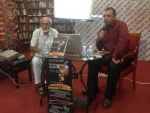 At the presentation of my second published book in Bulgaria, 2 September 2014