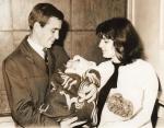 Me as a new born baby, Sofia, 1966