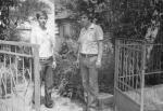 With my father, Sofia, 1981