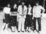 My graduation, Sofia, 1985