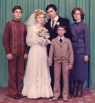 The wedding of my cousin Dobche, Plovdiv, 1980