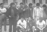 After a soccer match, 1990