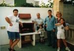 На парти при Кирил, 1995