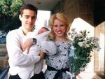 我的兒子弗拉基米爾離開醫院的第1天,1994